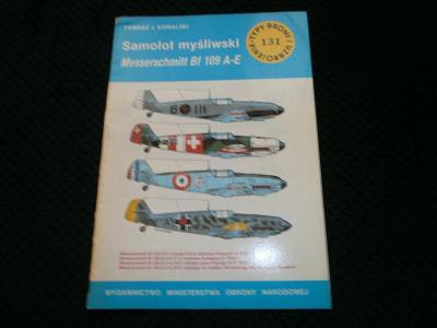 publikace Messerschmitt BF 109A-E