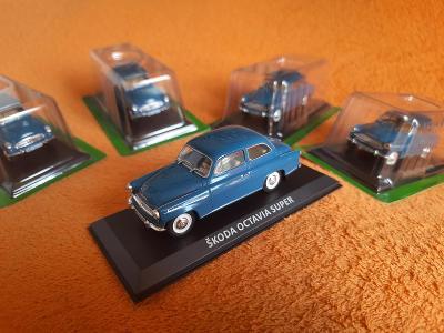 nádherný model (7) ŠKODA OCTAVIA SUPER ( 1959 ) 1:43 + DÁREK za 100 Kč