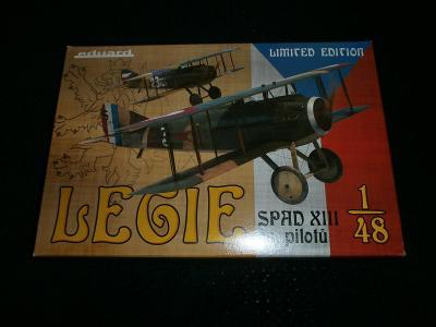 Spad XIII.čs.pilotů /Eduard limit.ed./
