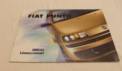 Fiat PUNTO 2 - prospekt doplňků  #