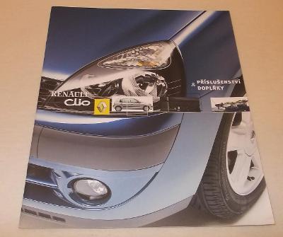 Renault CLIO 2 facelift - prospekt doplňků na přání  .#