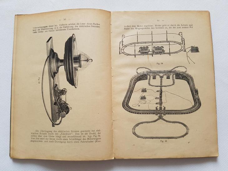 Starožitné elektrické hračky modely motor stroje vláčky dynamo 1922 - Starožitnosti