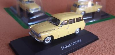 ŠKODA 1202 STW (8) Station Wagon (1964)sbírkový 1:43 + DÁREK za 100 KČ