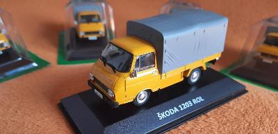model kovový ŠKODA 1203 ROL (6) valník ( 1985 ) 1:43 + DÁREK za 100 KČ