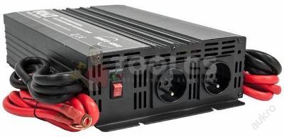 Měnič napětí NAPĚTÍ CAR SINUS 24V 230V 4000W