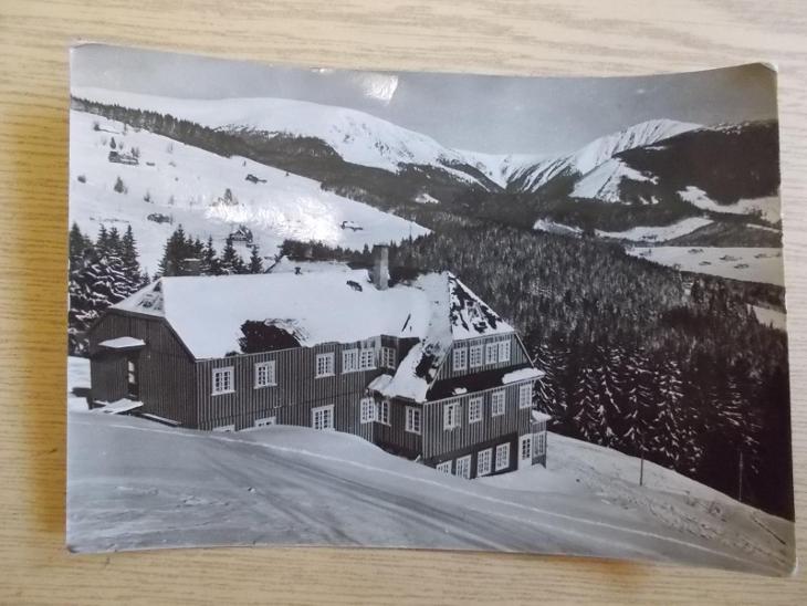 Krkonoše Trutnov Riesengebirge Pec pod Sněžkou Čapkova bouda - Pohlednice