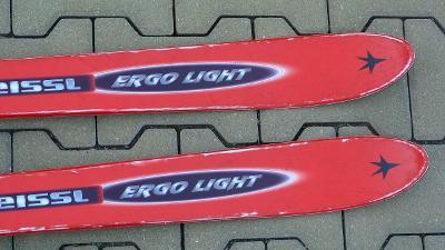 Lyže KNEISSL ERGO LIGHT 170/ bez vázání / pěkné skluznice