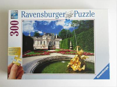 Ravensburger puzzle Linderhof v létě, 300 ks