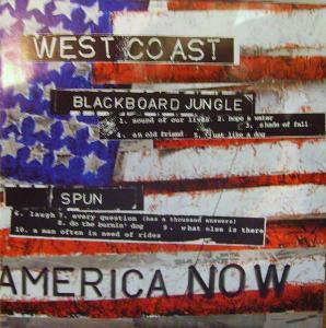2CD VARIOUS / AMERICA NOW - WEST COAST .. EAST COAST / 3D obal