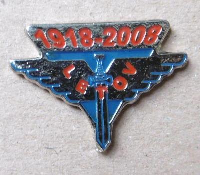 Odznaky letadlo letectví  Letov na pin