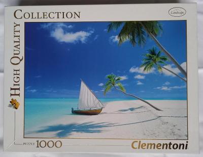 Puzzle Clementoni 1000 dílků - Maledivy