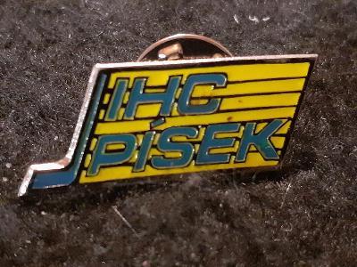 Odznak  IHC PÍSEK - lední hokej