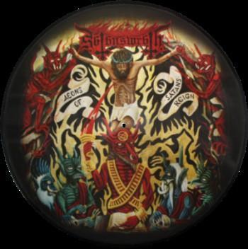 Satan's Wrath – Aeons Of Satan's Reign Label: Met  picture disc – NM