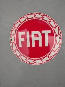 Smaltovaná cedulka FIAT