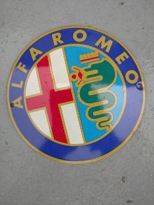 Smaltovaná cedulka ALFA ROMEO
