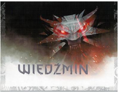 Polsko 2016 Prezentační balíček Známky aršík Zaklínač Geralt z Rivie