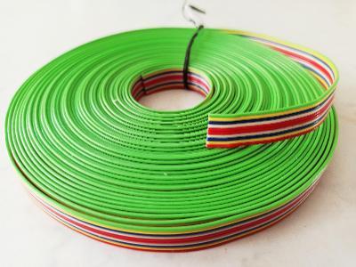 Plochý 10 žilový kabel PNLY licna 10x0,15 průměr 1,2 mm - KABLO Kladno