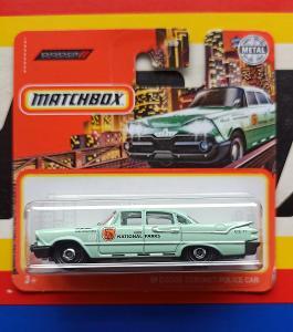 Dodge Coronet Police Car 1959 National Parks MB 71/100 Matchbox