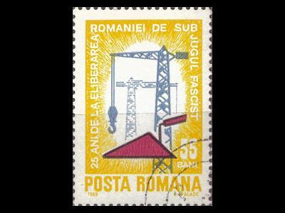 Rumunsko 1969 Mi 2787