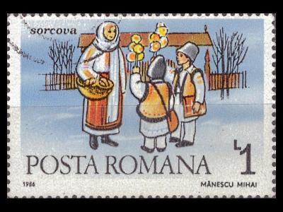 Rumunsko 1986 Mi 4313