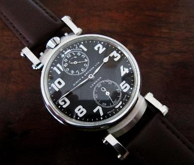 """ZENITH B&G """"Q"""" 1920 ALARM švýcarské luxus. náramkové / kapesní hodinky"""