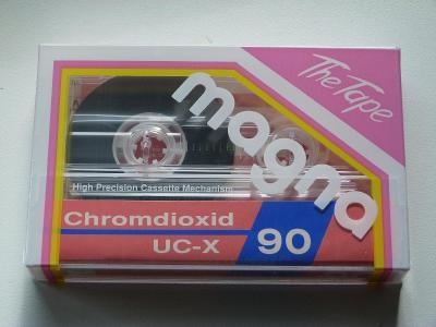 kazeta Magna UX-C 90, typ II, 1990-92