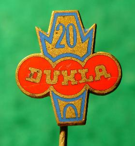 odznak/ DUKLA-PRAHA 20 LET /1