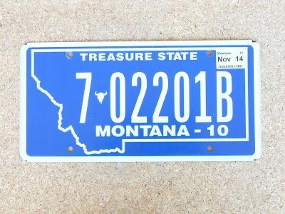 USA SPZ, Montana originál...