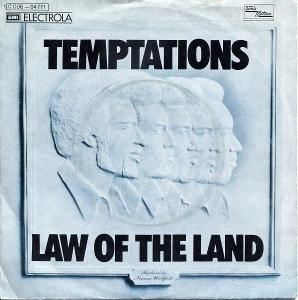"""TEMPTATIONS - LAW OF THE LAND 7""""SP"""