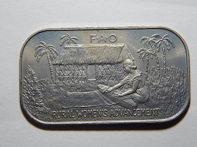 Tonga 1 Paanga 1980 FAO RRRR jen 8000 kusů! UNC č24399