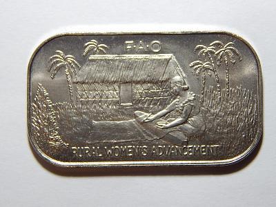 Tonga 1 Paanga 1980 FAO RRRR jen 8000 kusů! UNC č24400