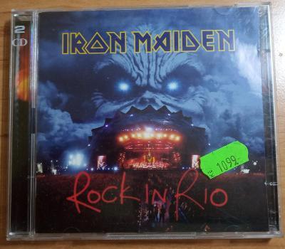 IRON MAIDEN-Rock in Rio-original 2 CD
