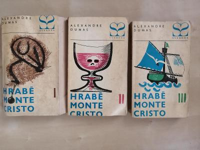 Hrabě Monte Christo - Alexandre Dumas - tři díly