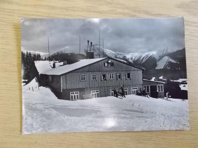Krkonoše Riesengebirge Pec pod Sněžkou chata Na Zahrádkách ROH ČKD