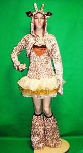 N*881 ŽIRAFA -  karnevalový kostým pro dospělé vel.S