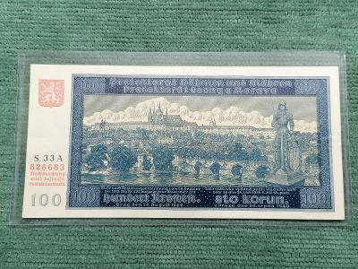 100 K 1940 I. vydání, série 33 A, stav 2