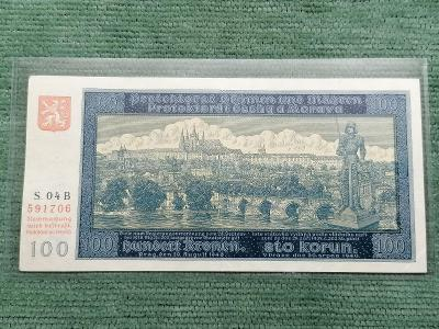 100 K 1940 I. vydání, série 04 B, stav 2
