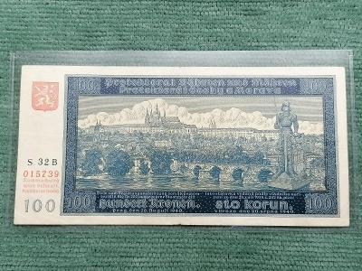 100 K 1940 I. vydání, série 32 B, stav 2