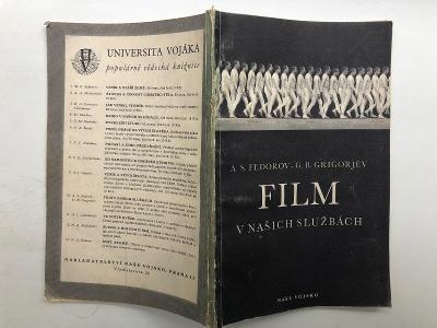 Výprodej knih! FILM V NAŠICH SLUŽBÁCH - Fedorov, Grigorjev - 90 stran