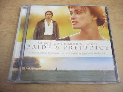CD PRIDE & PREJUDICE (Music from Motion Picture)