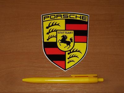 PORSCHE logo - samolepka
