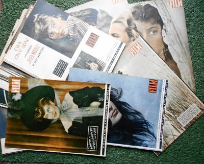 staré polské časopisy FILM - cca 100 ks - 1958-1965