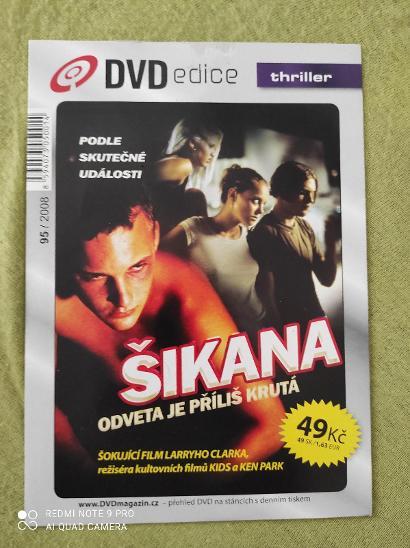 Dvd Šikana - Film