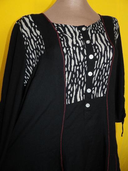 .*XL-XXXL ŠMRNCOVNÍ ŠATY -DELŠÍ TUNIKA* - Dámské oblečení