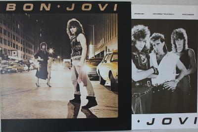 Bon Jovi Same 1.Album LP 1984 vinyl NL 1.press jako nove NM Hard Rock