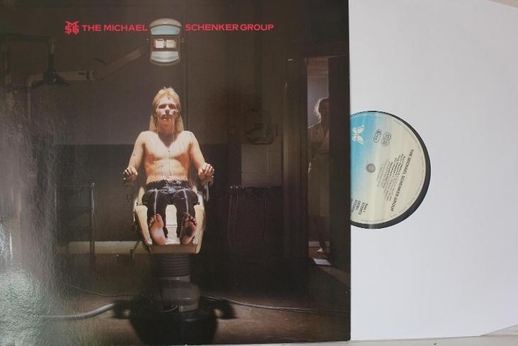 The Michael Schenker Group Same First Album 1980 vinyl 1.press NM UFO - Hudba