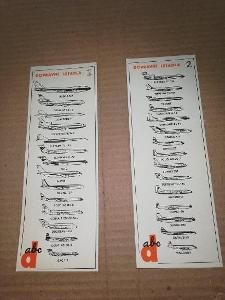 Dopravní letadla z ABC č. 1 a č.2