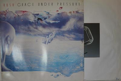 Rush – Grace Under Pressure LP 1984 vinyl NL 1.press super stav EX
