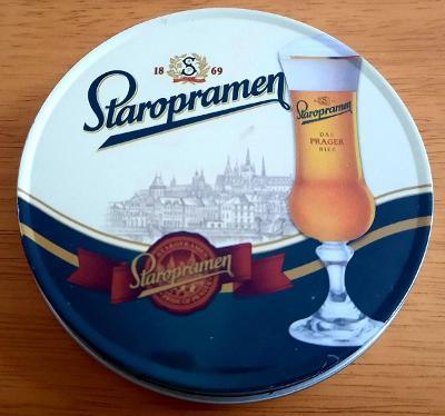 PT 4 Ks sada Staropramen EXPORT, korek+plech. Německo