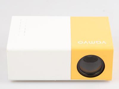 Mini LED projektor VAMVO / 12V / 0,28kg / USB / SD / AV /HDMI od 1Kč!